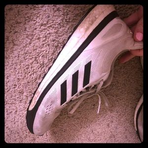 Adidas boost shoes - Size 11 Mens - Black and Wt